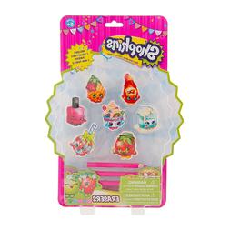 Shopkins Erasers Set Includes 7 Collectable Erasers and 3 Mi