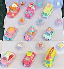 SHOPKINS EXCLUSIVE CUTIE CARS & MINI SHOPKINS **SERIES 4**