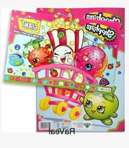 Shopkins GIANT Coloring Activity Book Maze Games 24 Pages 11