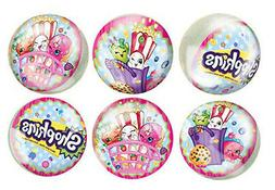 SHOPKINS GROCERY PALS Happy Birthday party supplies RUBBER B