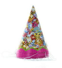 SHOPKINS GROCERY PALS Happy Birthday party supplies cone PAP
