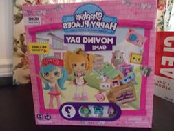 SHOPKINS HAPPY PLACES MOVING DAY BOARD GAME HOME COLLECTION