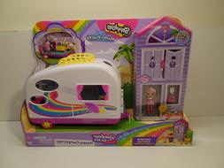 Shopkins Happy Places Rainbow Beach Camper Van Playset With