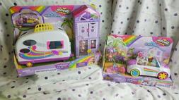 SHOPKINS HAPPY PLACES Rainbow Beach campervan & convertible