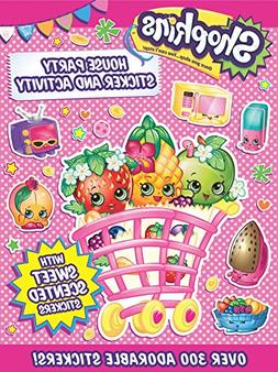 Shopkins House Party Sticker and Activity