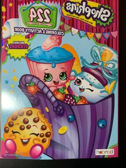 SHOPKINS JUMBO COLORING & ACTIVITY BOOK BESTIES FOR LIFE! NE