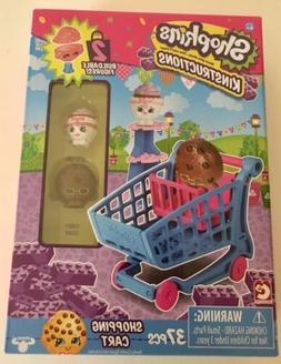 Shopkins Kinstructions Shopping Cart 37 Piece Set Brand New