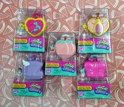 Shopkins Lil Secrets Lockets Lot of 5 Teeny Shoppies And Tin