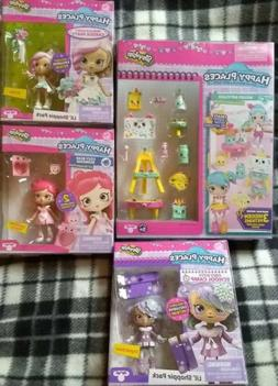 Shopkins Lil Shoppies CRYSTAL SNOW, Valentina + Happy Places