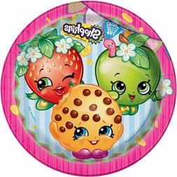 """Shopkins 9"""" Lunch Plates"""
