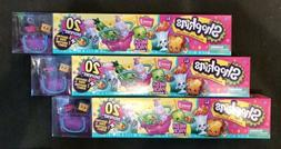 SHOPKINS MEGA PACK 20 -- ULTRA RARE SEASON 3