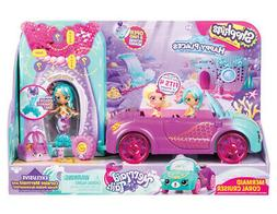 Shopkins Happy Places Mermaid Tails Coral Cruiser Playset. B