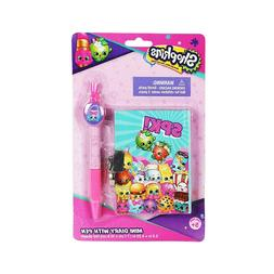Shopkins Mini Diary with Special Pen for Girls