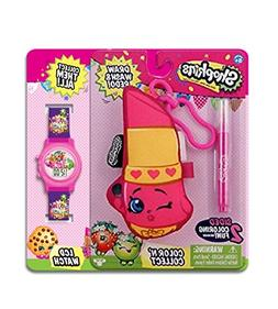 MSI Entertainment Shopkins Color N Wash Hook Plush and LCD W