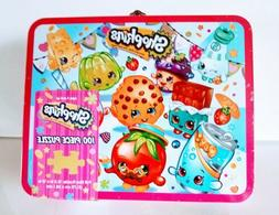 Shopkins NEW 100 Piece Puzzle  in *LUNCH BOX *NEW & SEALED P