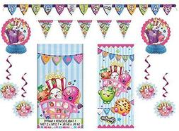 Shopkins Party Pack ~ Decoration Kit, Party Door Poster, Ban