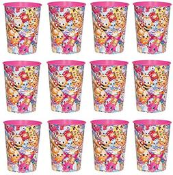 Lot of 12 Shopkins 16oz Party Plastic Cup ~Party Favor Suppl