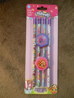 Shopkins Pencils with 2 Erasers