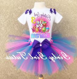 Shopkins Personalized Birthday Tutu Outfit Party Custom Dres