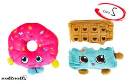 BonBon Shopkins Plush D Lish Donut Cheeky Chocolate Set And