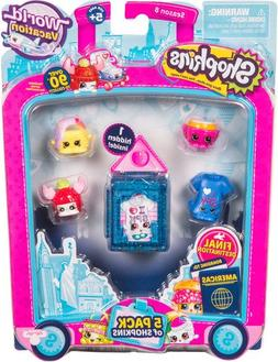 Shopkins S8 W3 5 Pk Shopkins Toy