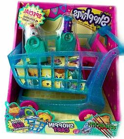 SHOPKINS SEASON 3 XL SHOPPING CART PLAYSET w/ EXCLUSIVE FIGU