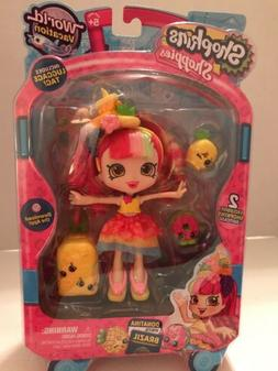 SHOPKINS Season 8 Shoppie Doll - DONATINA Visits BRAZIL Worl
