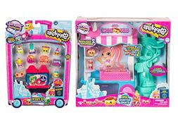 Shopkins Season 8 USA Hotdog Stand Playset and Pack of 12 Se