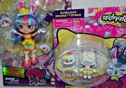 Shopkins Season 9 Wild Style Rainbow Kate Shoppies Doll Colo