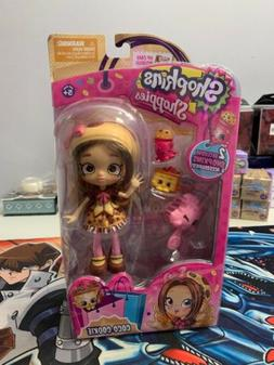 "Shopkins Shoppie ""Coco Cookie"" 2 Exclusive Shopkins NEW FREE"