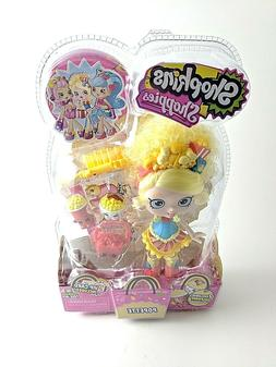Shopkins Shoppies Doll Popette - 2 Exclusive Shopkins & Acce