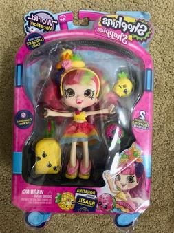 Shopkins Shoppies Doll World Vacation Donatina visits Brazil