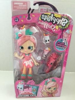 SHOPKINS SHOPPIES Lucy Smoothie Action Figure Doll NEW GIRL