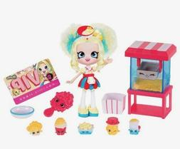 Shopkins Shoppies POPETTE'S POPCORN STOP Playset ~ 2016 Coll