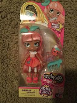 Shopkins Shoppies Shop Style *SUMMER PEACHES* Doll & Accesso