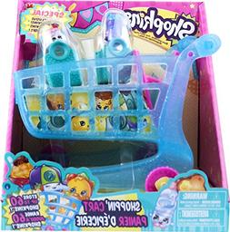 NEW Shopkins Shopping Shoppin Cart XL 2 Exclusive Season 3 P
