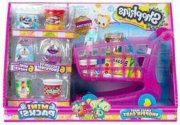 Shopkins Small Mart Shopping Cart Mini Packs Collectors Edit