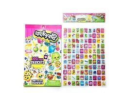 Shopkins Stickers Bundle: 1 Pack of 1200 Collectible Sticker