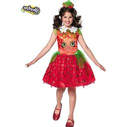 Disguise Shopkins Strawberry Classic Costume, One Color, Sma