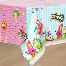 shopkins table cover birthday supplies