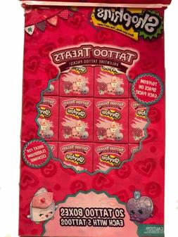 shopkins tattoo treats valentine tattoo packs party