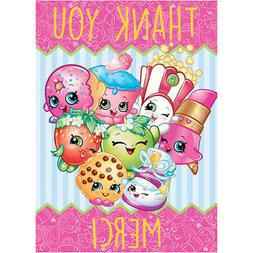 SHOPKINS THANK YOU NOTES  ~ Birthday Party Supplies Statione
