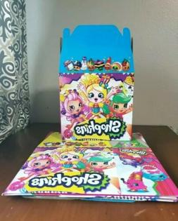 Shopkins Treat Party Favor Boxes *10CT* Loot Goody Candy Bag