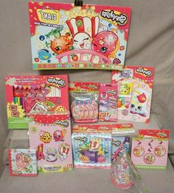 "SHOPKINS Ultimate Birthday Package Assorted Items ""Lot of 11"