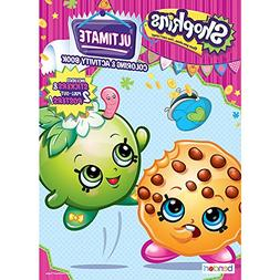 Shopkins Ultimate Coloring & Activity Book Includes Stickers