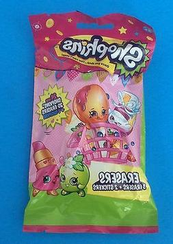 Shopkins Unknown Season ERASERS BLIND BAG -- Never Opened