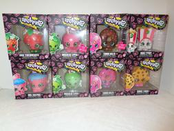 FUNKO Shopkins Vinyl Collectible Complete Set of 8 With Chas
