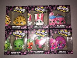 SHOPKINS VINYL FIGURES POPPY CORN DLISH STRAWBERRY KISS KOOK