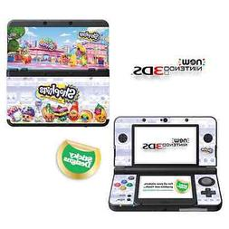 Shopkins Vinyl Skin Sticker for NEW Nintendo 3DS
