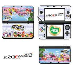 Shopkins Vinyl Skin Sticker for NEW Nintendo 3DS XL